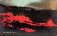 Hawaii USA, Kilauea Volcano, Blick auf den Vulkan, Lava, Magma