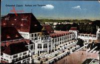 Sopot Gdańsk Zoppot Danzig, Partie am Kurhaus, Terrassen