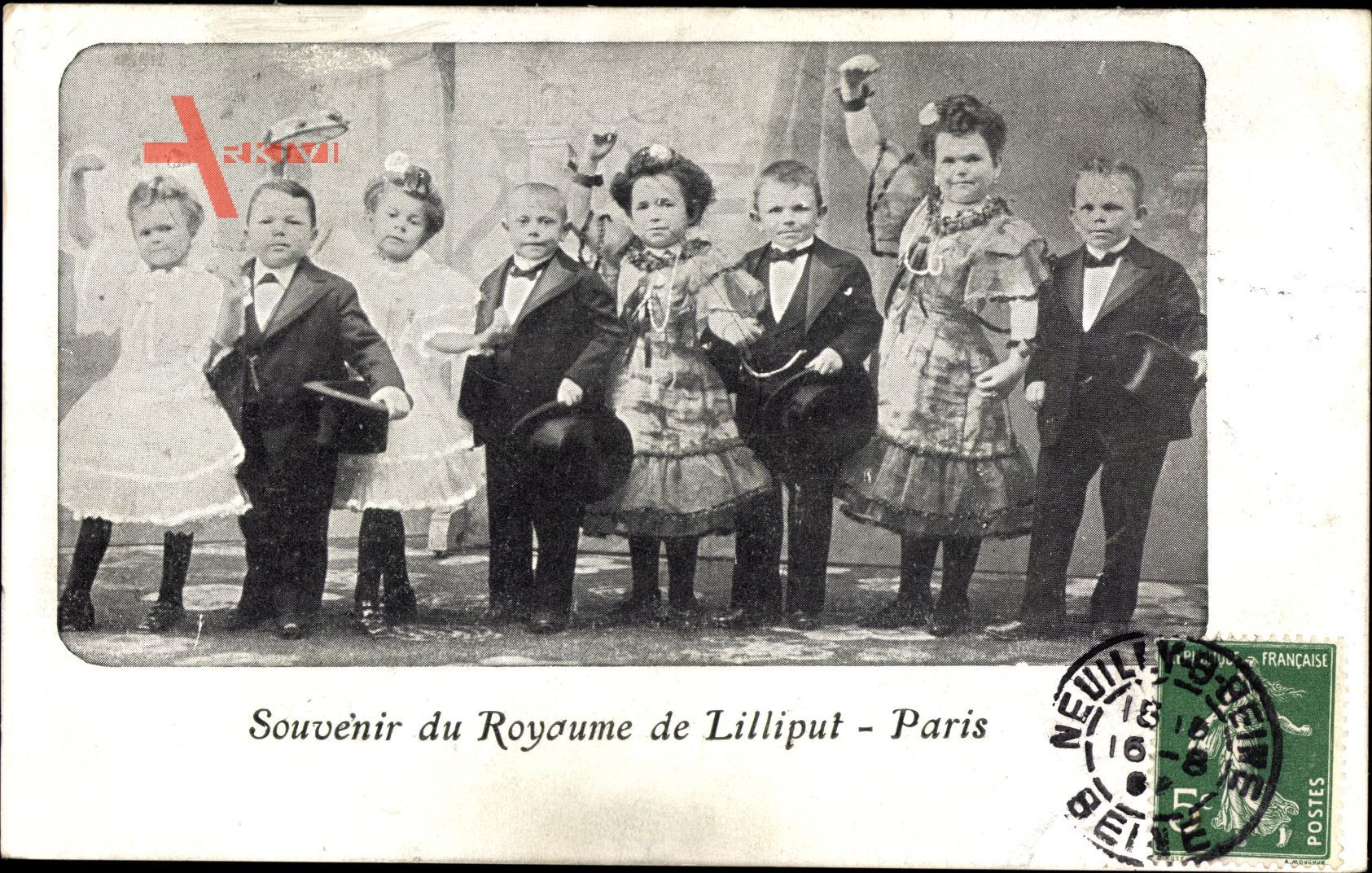Paris, Souvenir du Royaume de Liliput, Liliputaner, Tänzer