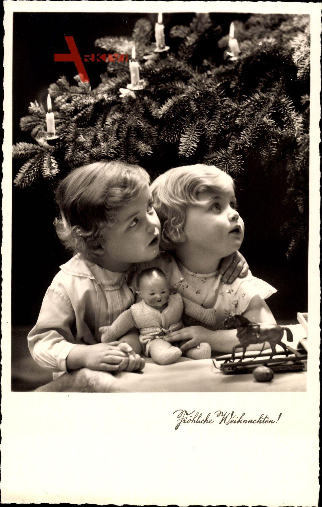 Frohe Weihnachten, Kinder, Geschenke, Tannenbaum, Amag 66366 4
