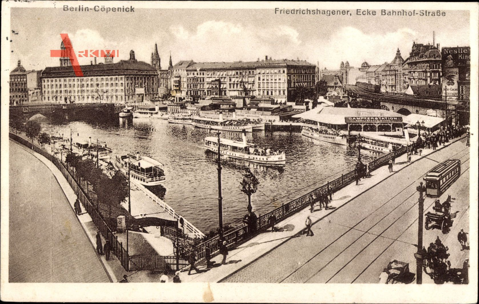 Berlin Köpenick Friedrichshagener Ecke Bahnhof Straße