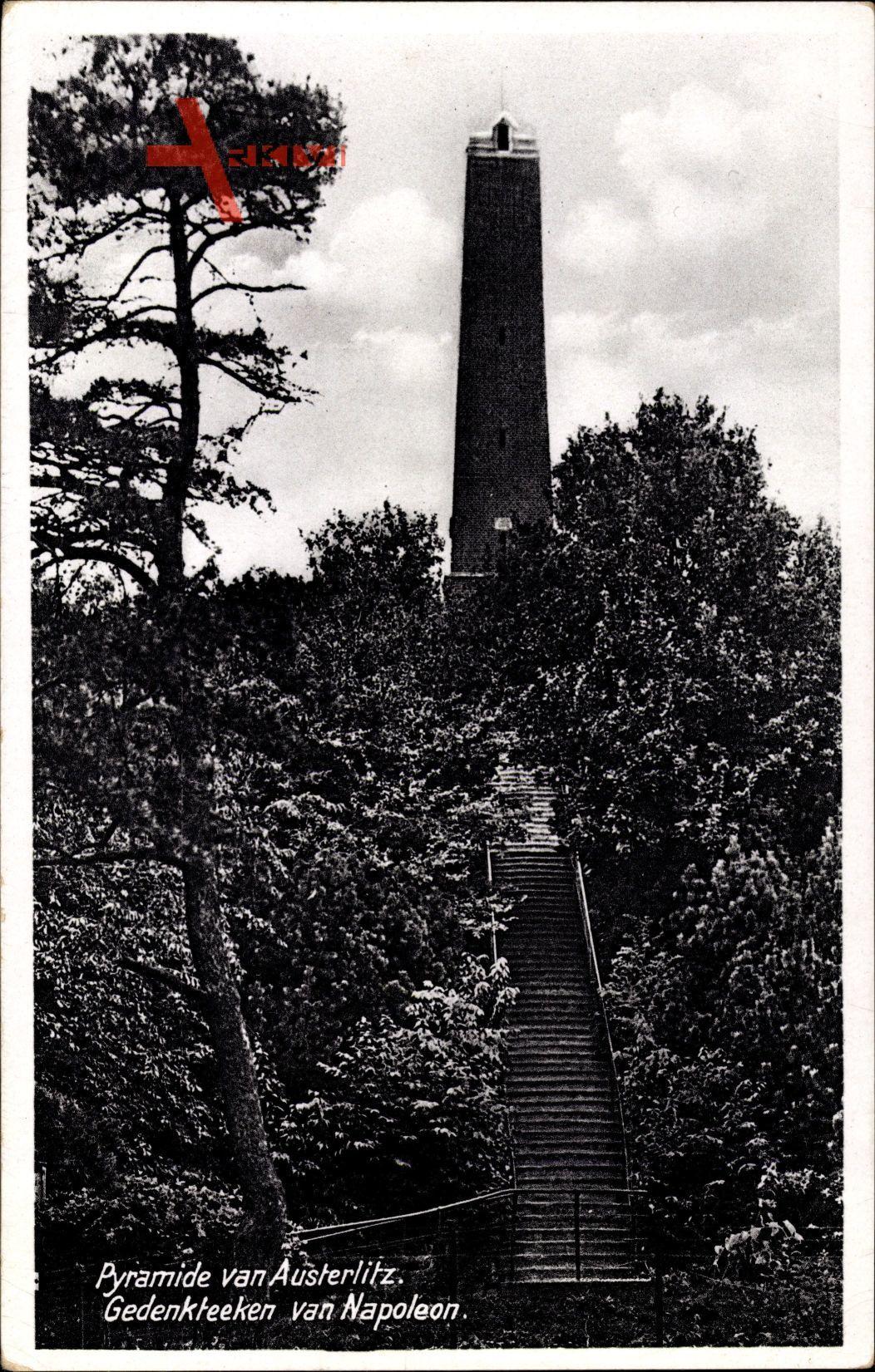 Woudenberg Utrecht Niederlande, Pyramide van Austerlitz, Gedenkteen Napoleon
