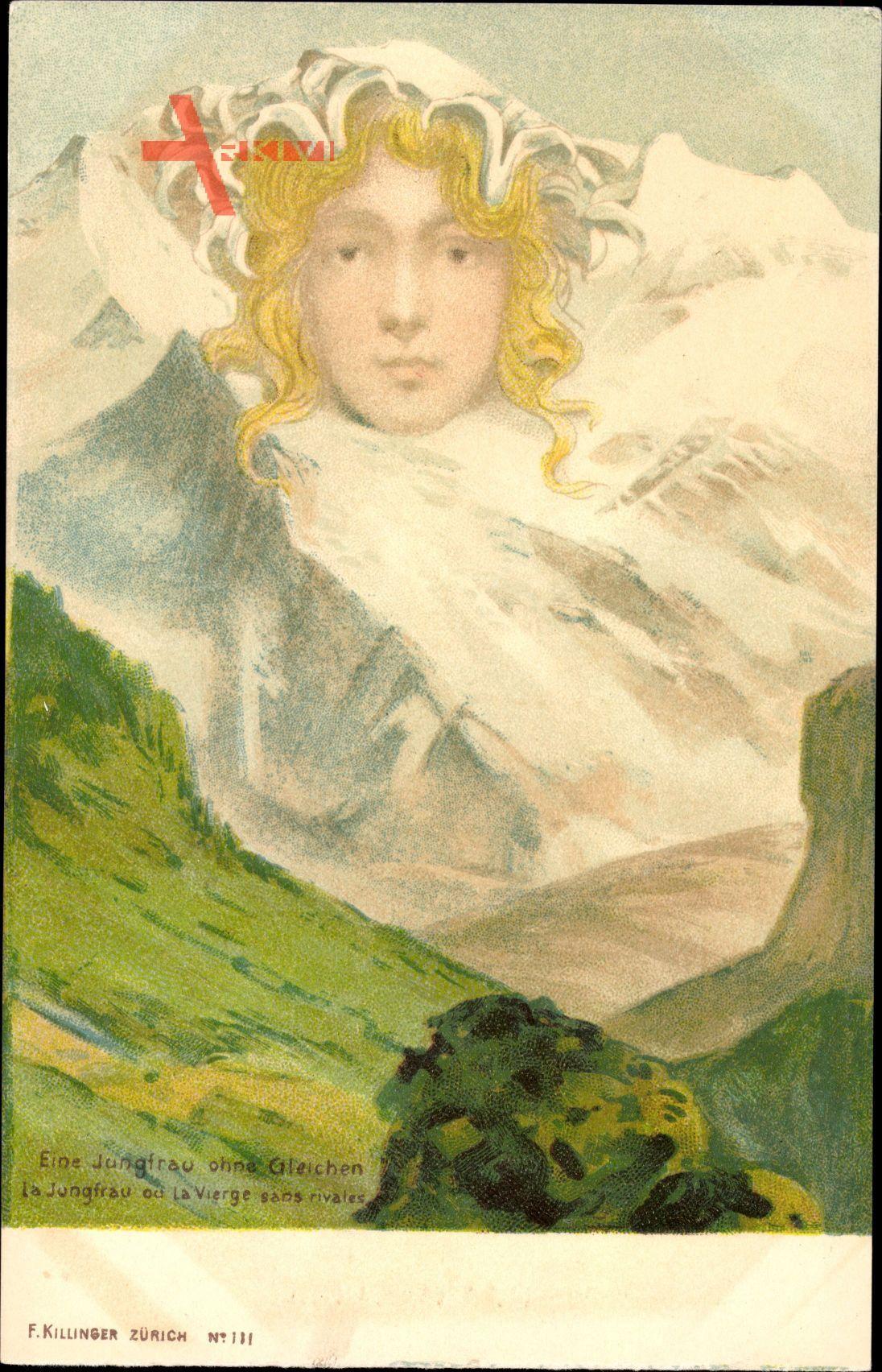 Eine Jungfrau ohne Gleichen, Berggesichter, Killinger No 131