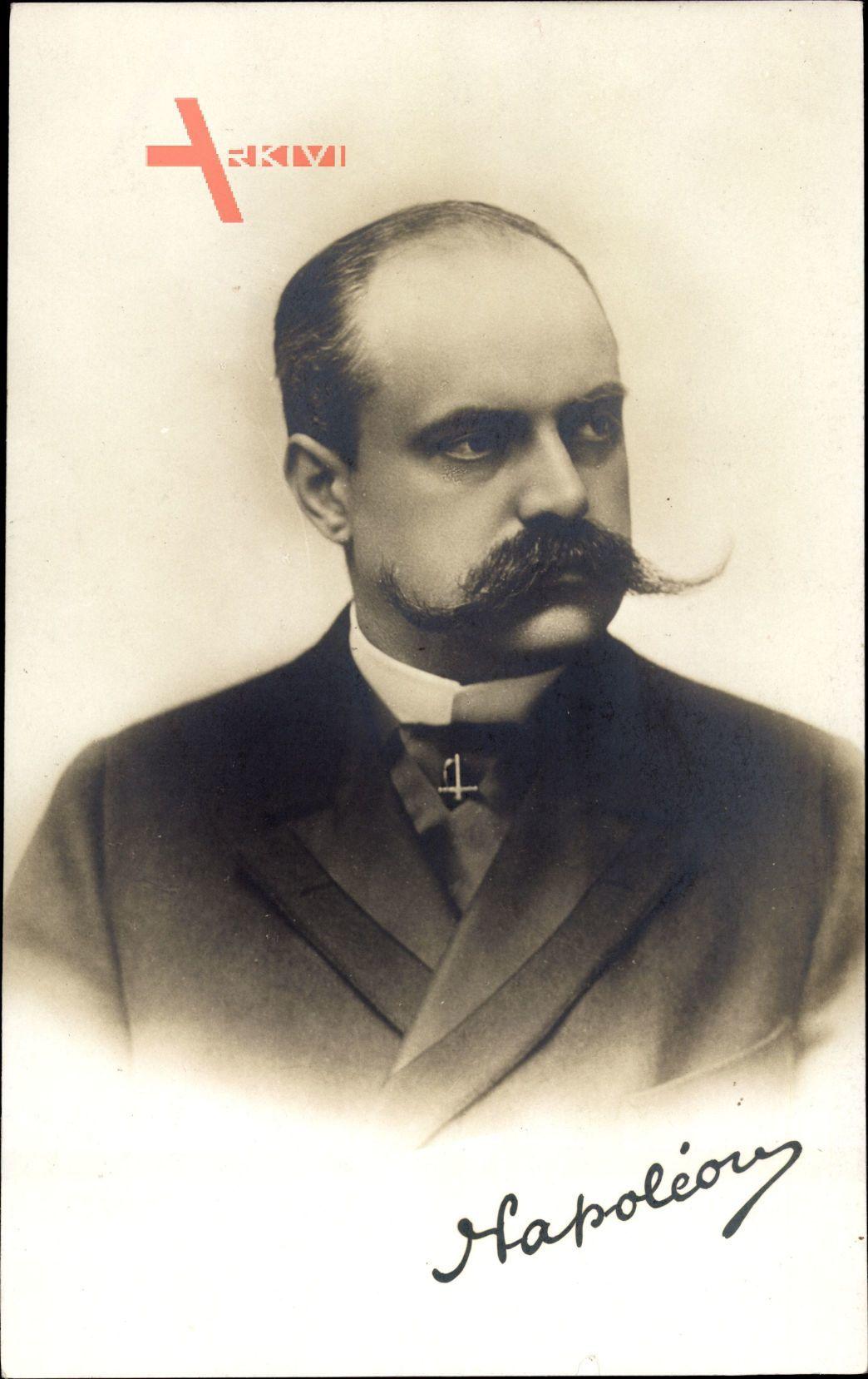 Prince Victor Napoléon, 1862 à 1926, fils de Napoléon Jérôme Bonaparte