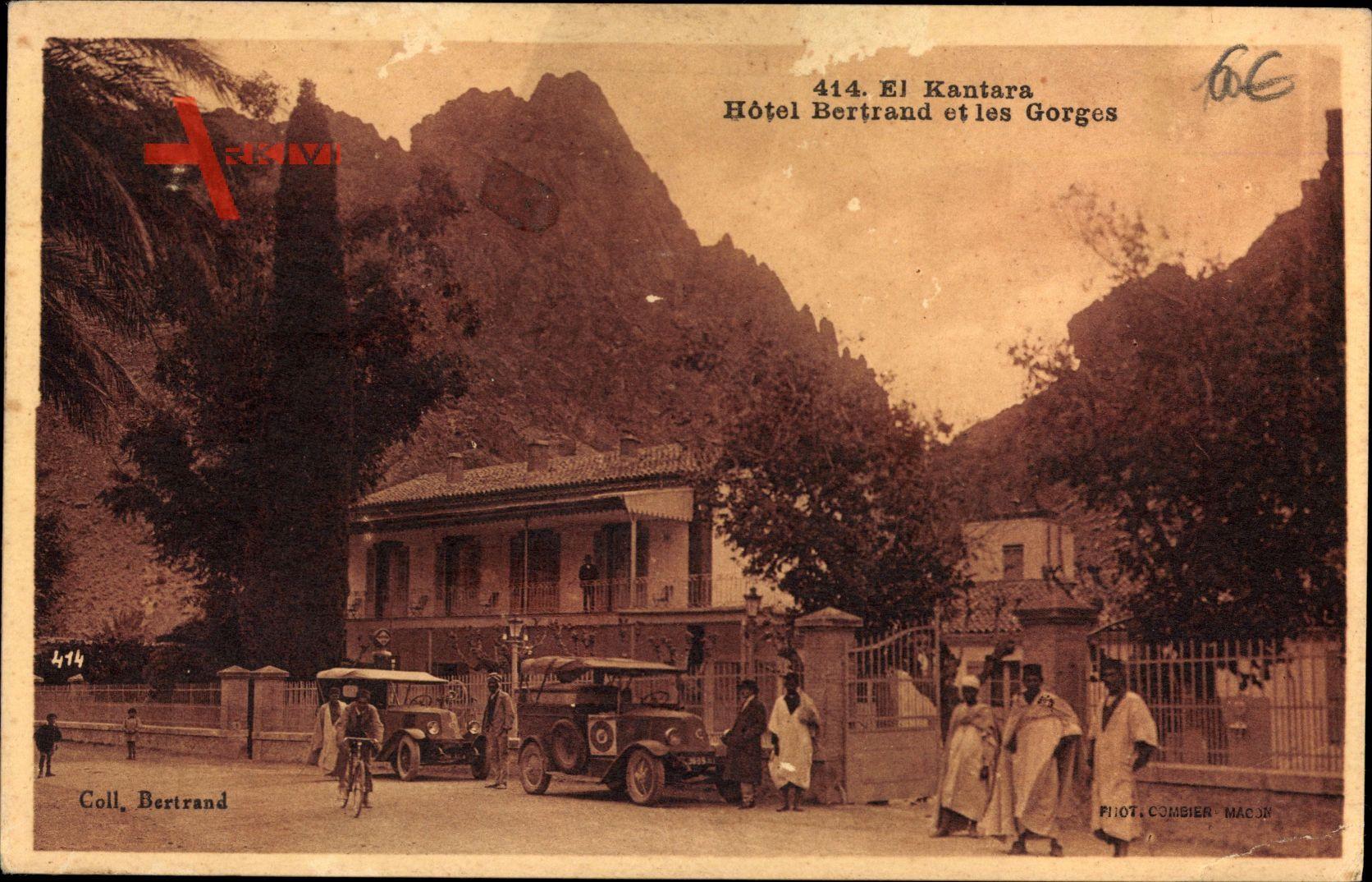 El Kantara Ägypten, Hotel Bertrand et les Gorges, Autos