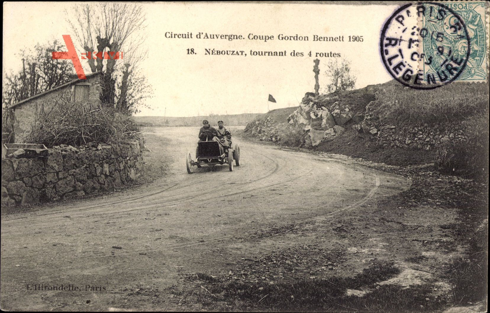 Circuit dAuvergne, Coupe Gordon Bennett 1905, Nébouzat, Autorennen