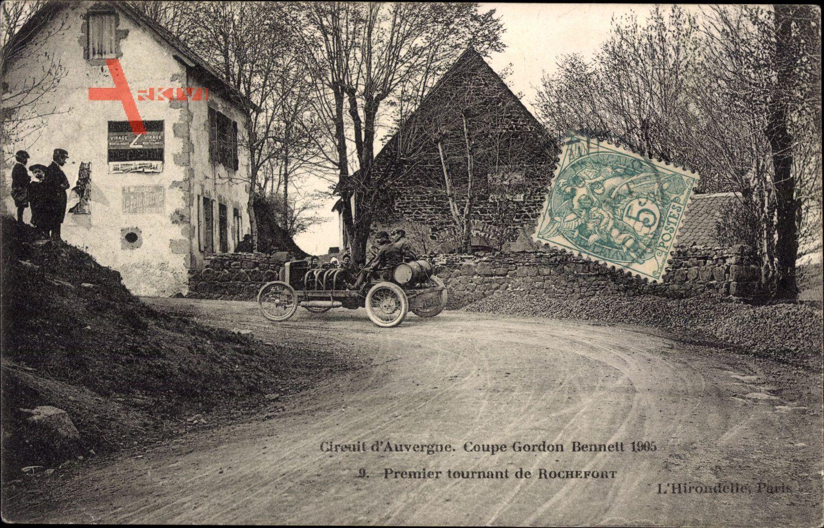 Circuit dAuvergne, Coupe Gordon Bennett 1905, Tournant de Rochefort