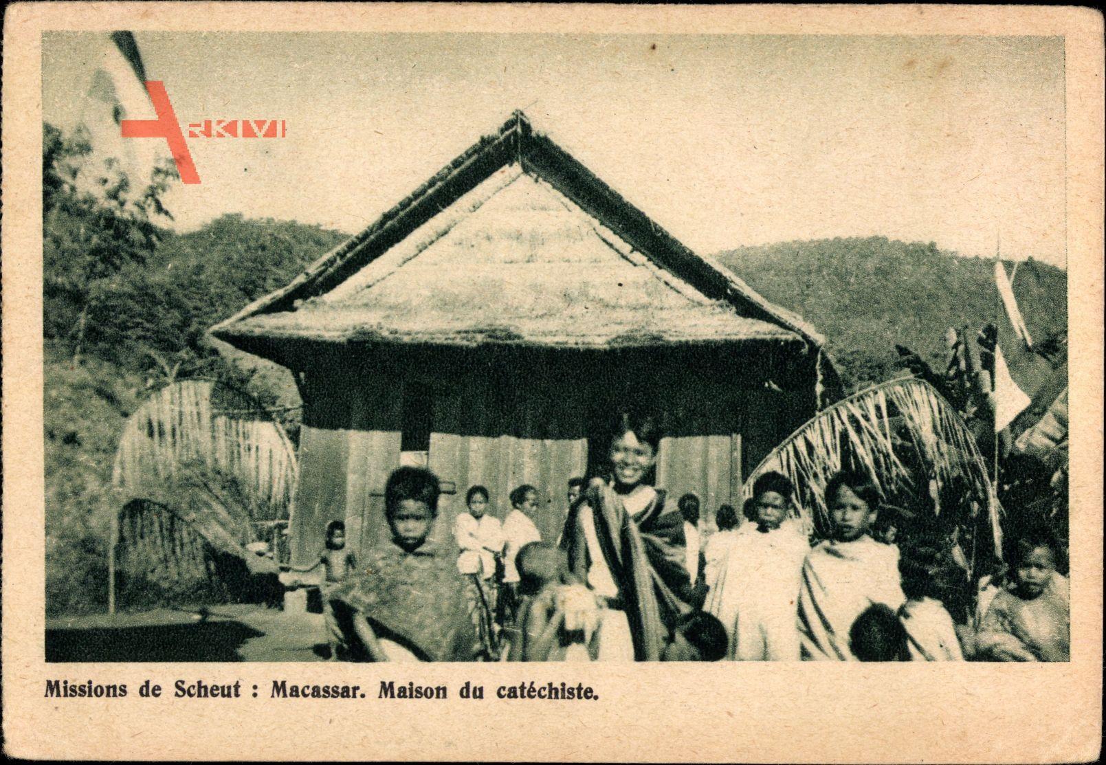 Macassar Südafrika, Missions de Scheut, Maison du Catéchiste, Missionierung