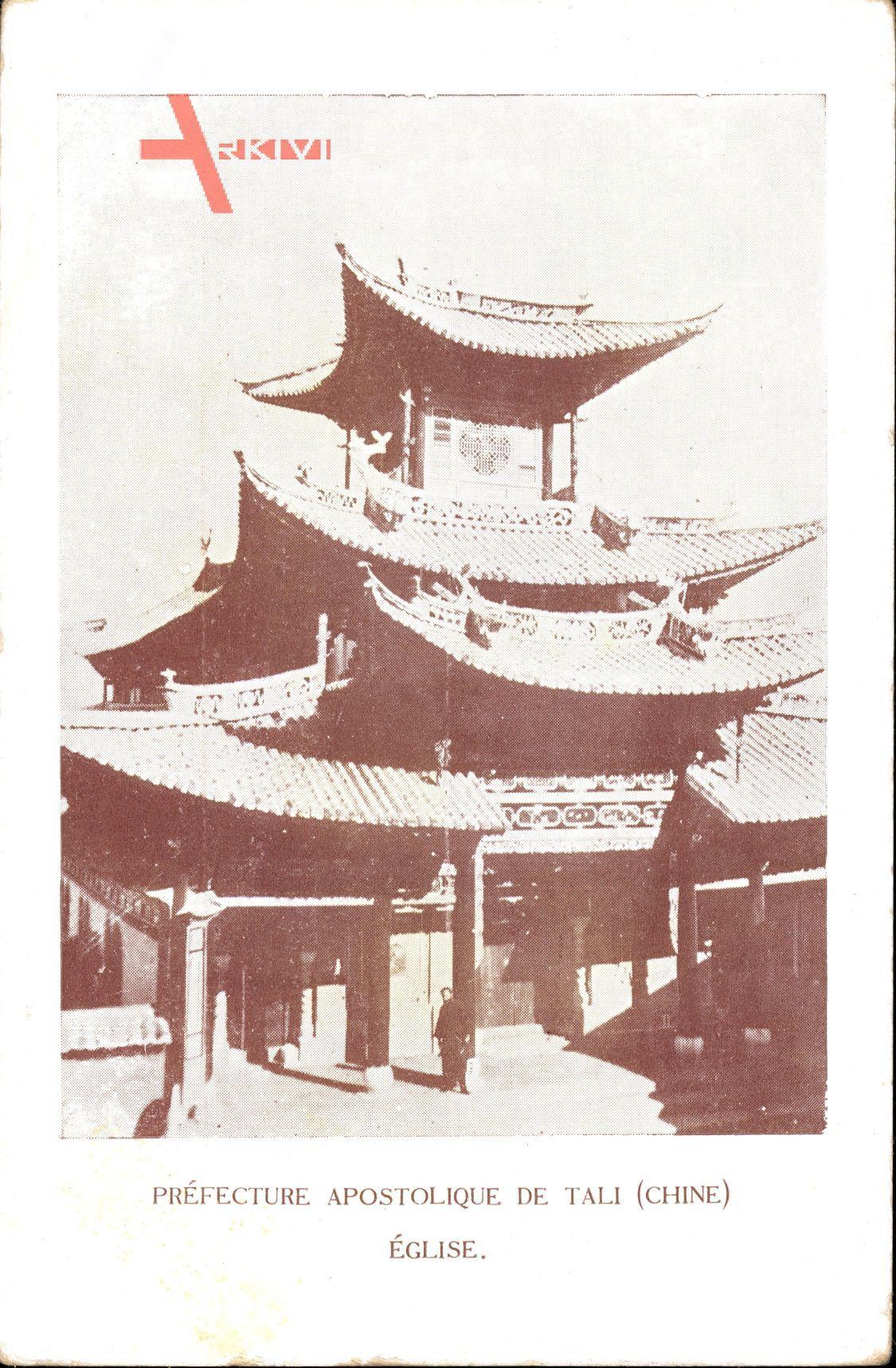 Tali China, Préfecture Apostolique, Kirche im Pagodenstil