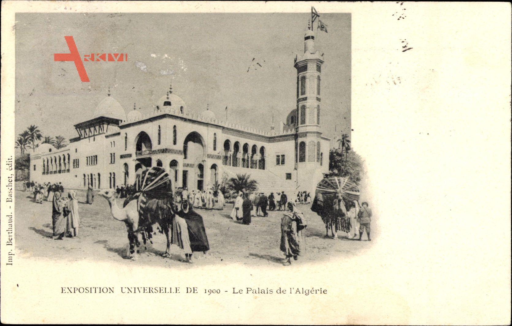 Paris, Exposition Universelle de 1900, Palais de lAlgerie, Kamel