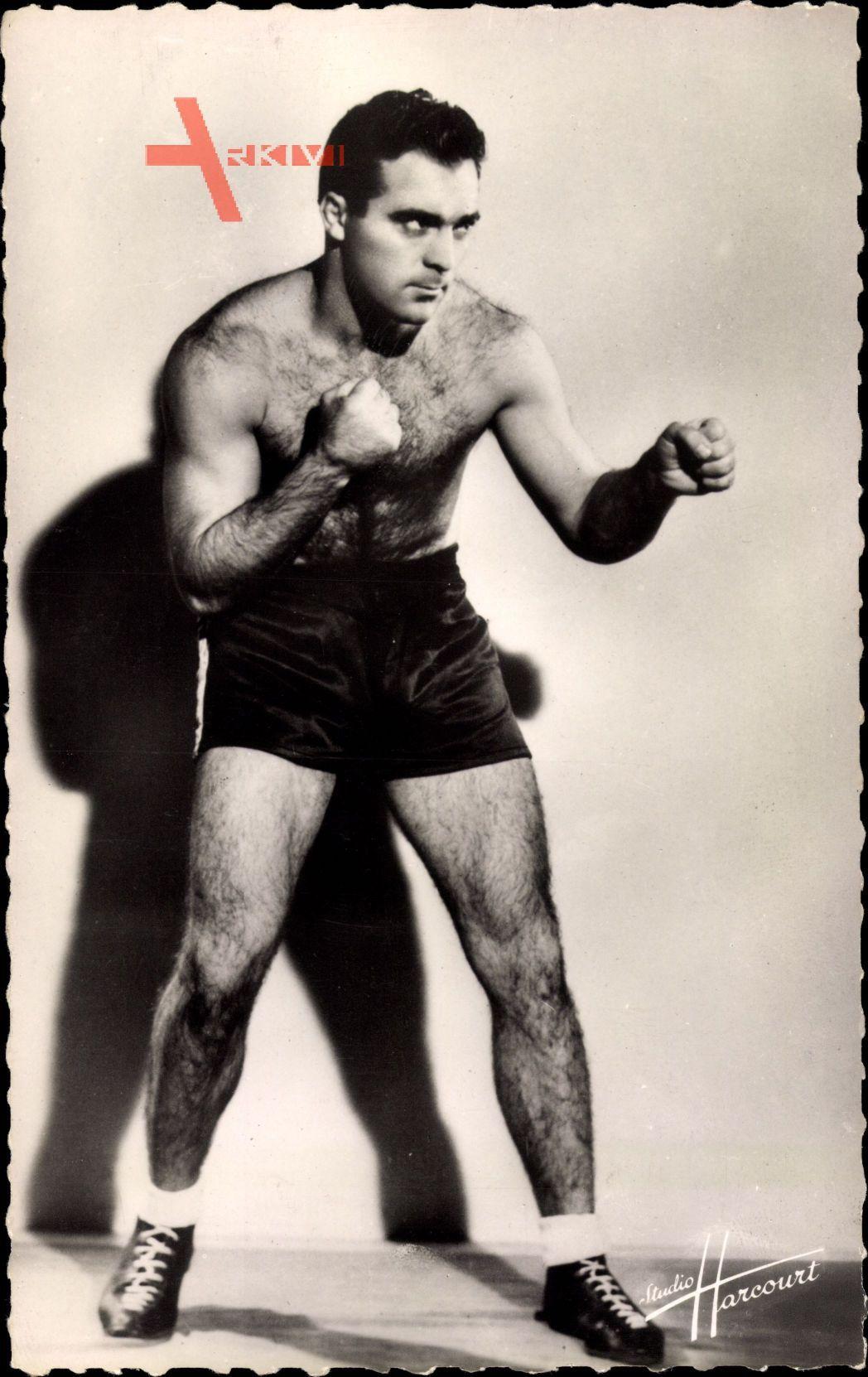 Französischer Boxer Marcel Cerdan, Portrait