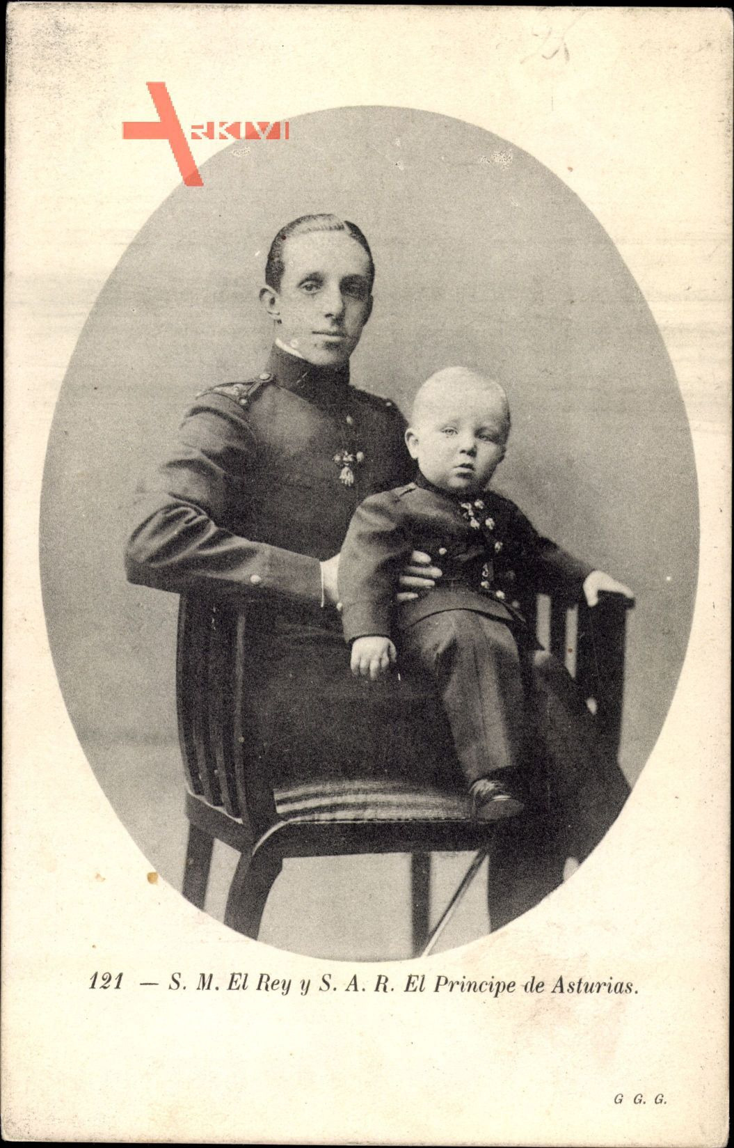 König Alfons XIII. von Spanien, Principe de Asturias