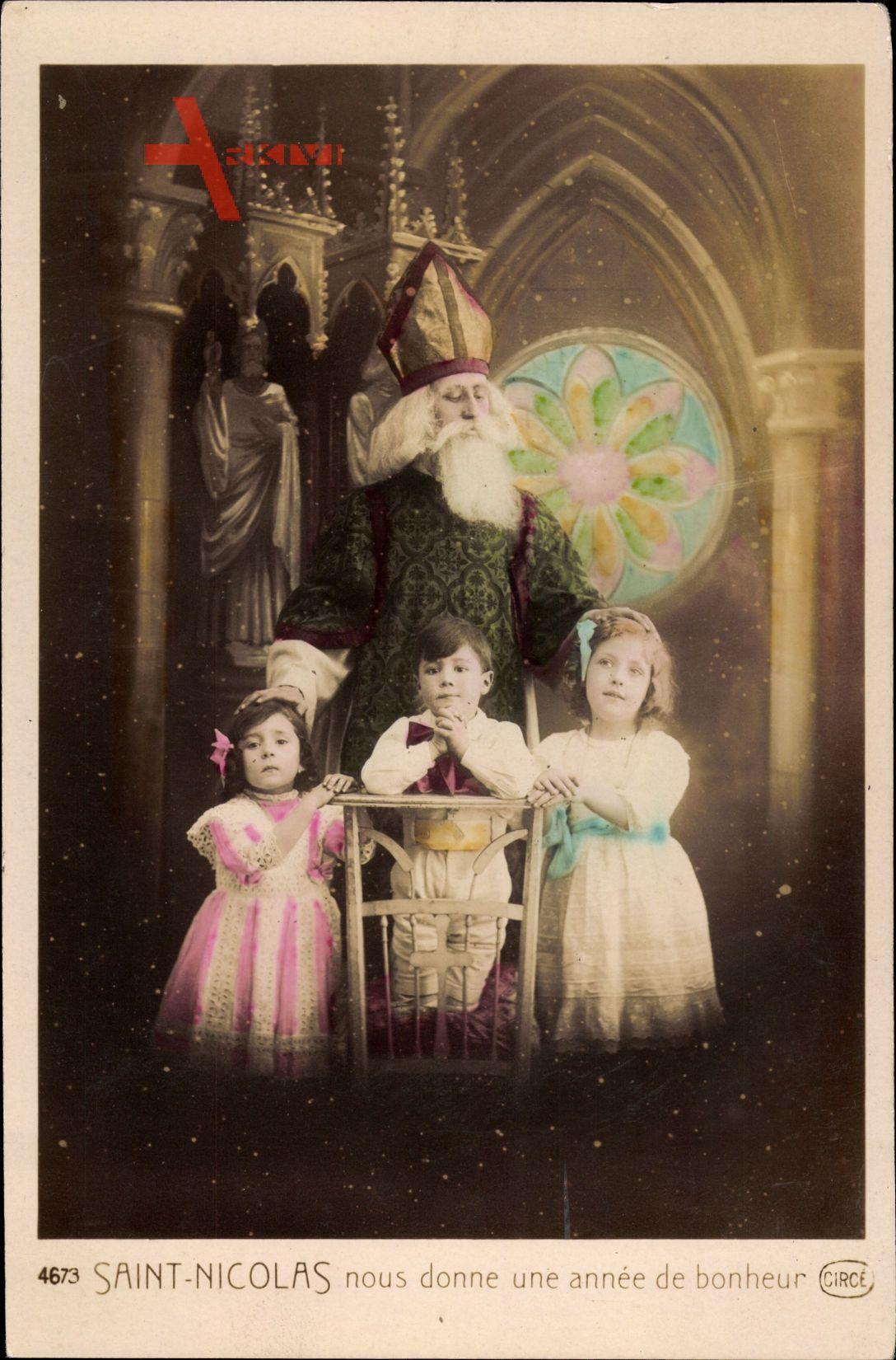 Frohe Weihnachten, Weihnachtsmann, Kinder, Saint Nicolas, Nikolaus