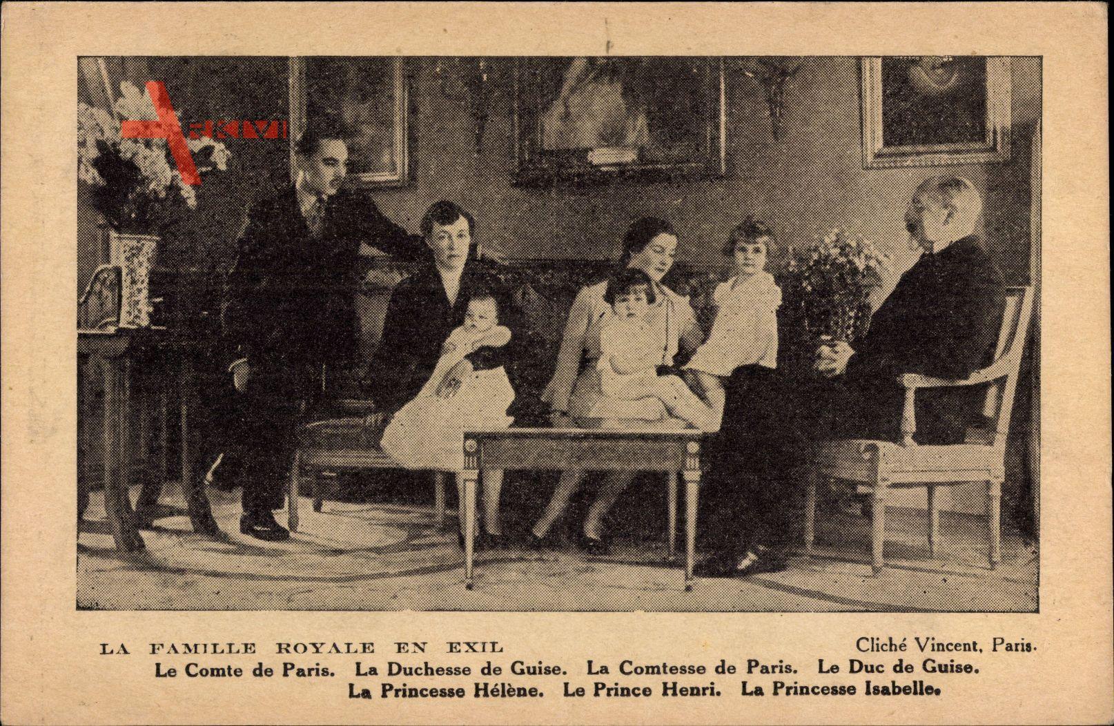 Duc de Guise, Jean dOrléans, Duchesse, Comte de Paris, Comtesse, Enfants