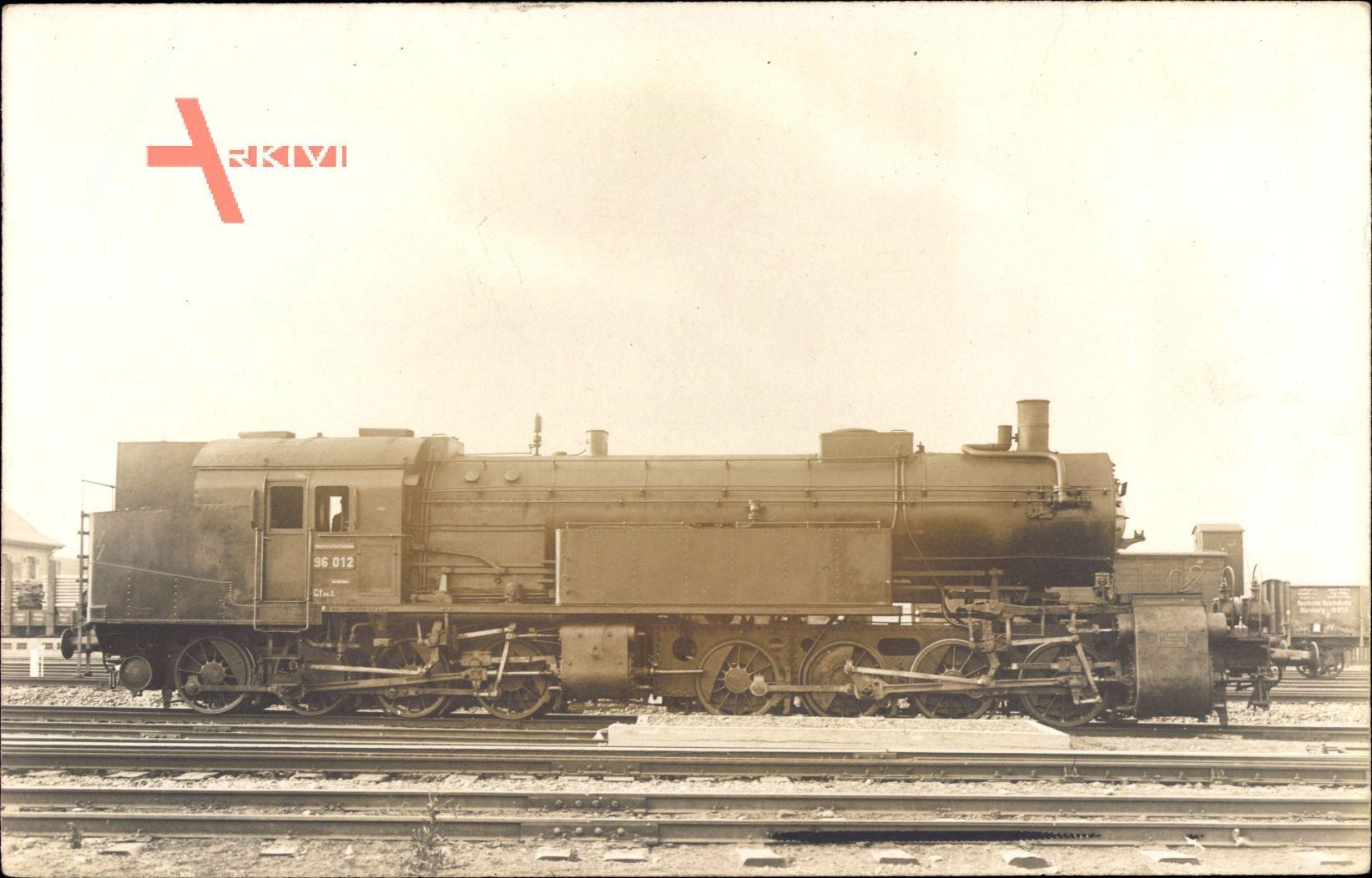 Deutsche Eisenbahn, Lokomotive, Nr 96 012