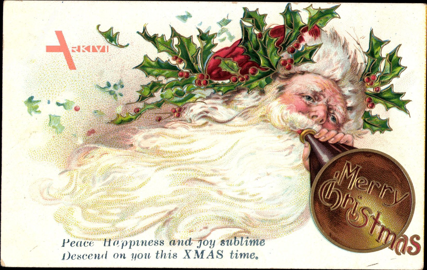Frohe Weihnachten, Weihnachtsmann, Merry Christmas