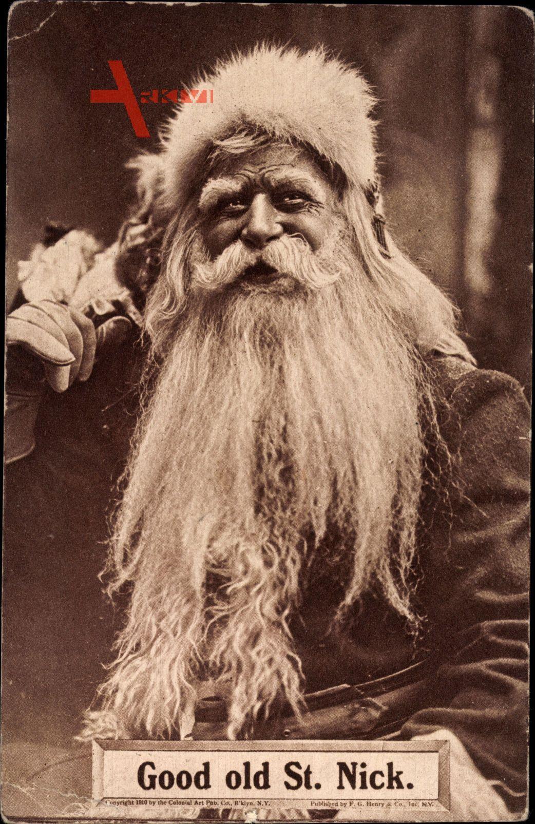 Frohe Weihnachten, Weihnachtsmann, St. Nick, Nikolaus