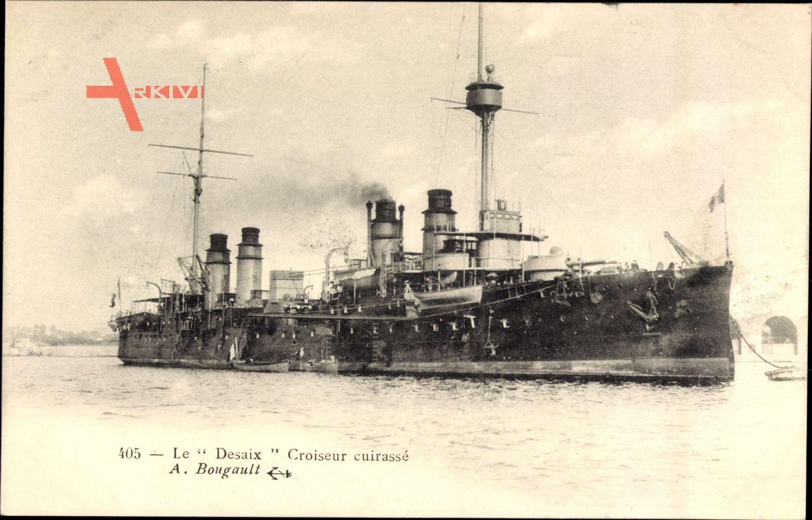 Französisches Kriegsschiff, Desaix, Croiseur cuirassé, Marine Militaire