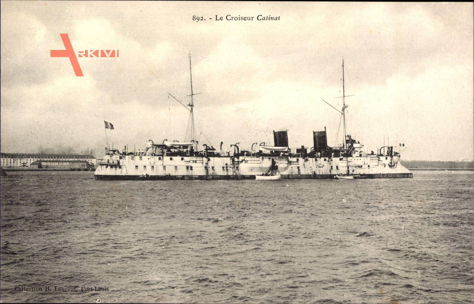 Französisches Kriegsschiff, Le Croiseur Catinat, Kreuzer