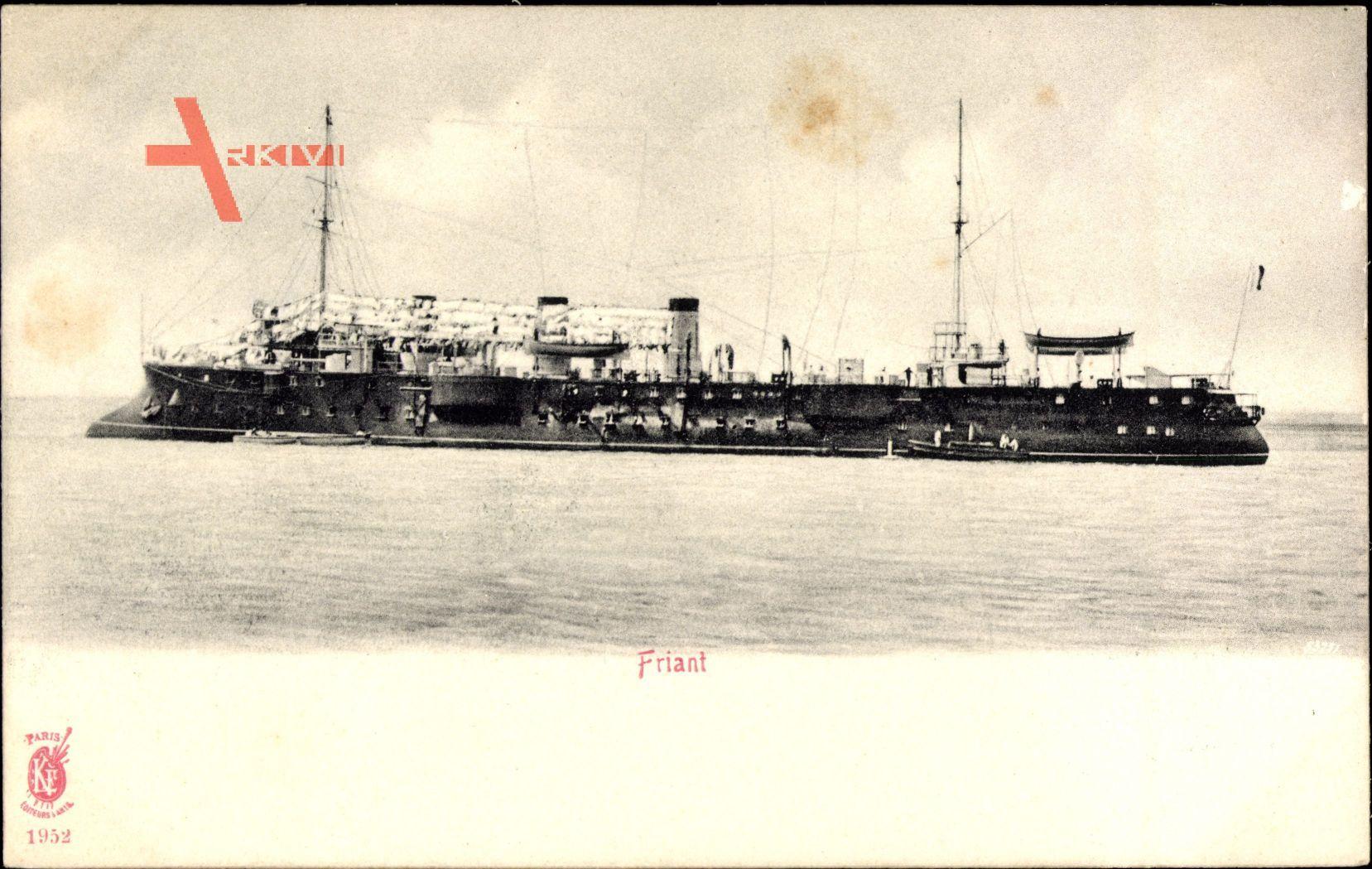 Französisches Kriegsschiff, Friant, Marine Militaire Francaise