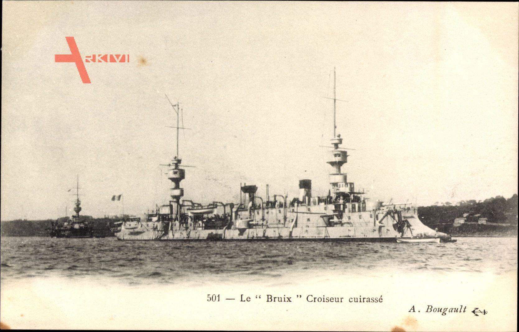 Französisches Kriegsschiff, Le Bruix, Croiseur cuirassé