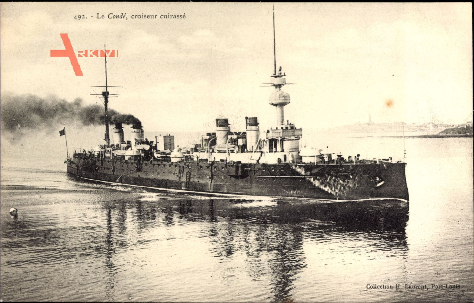 Französisches Kriegsschiff, Condé, Croiseur cuirassé