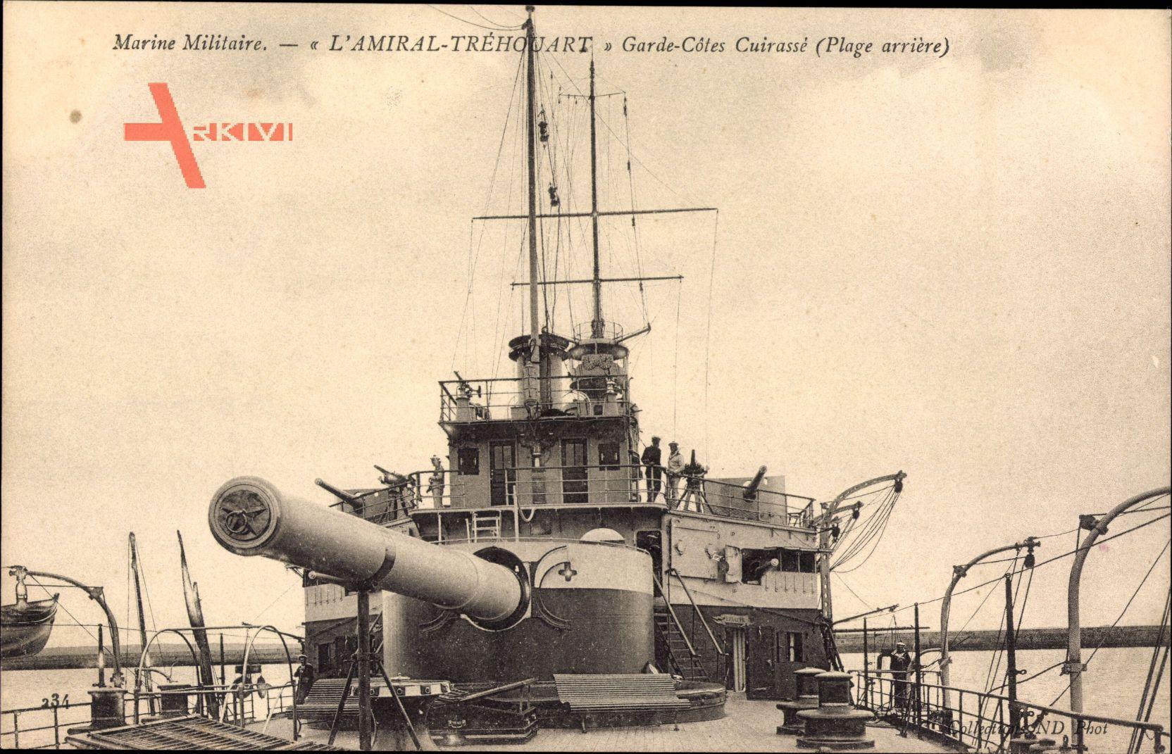 Französisches Kriegsschiff, Amiral Tréhouart, Marine Militaire