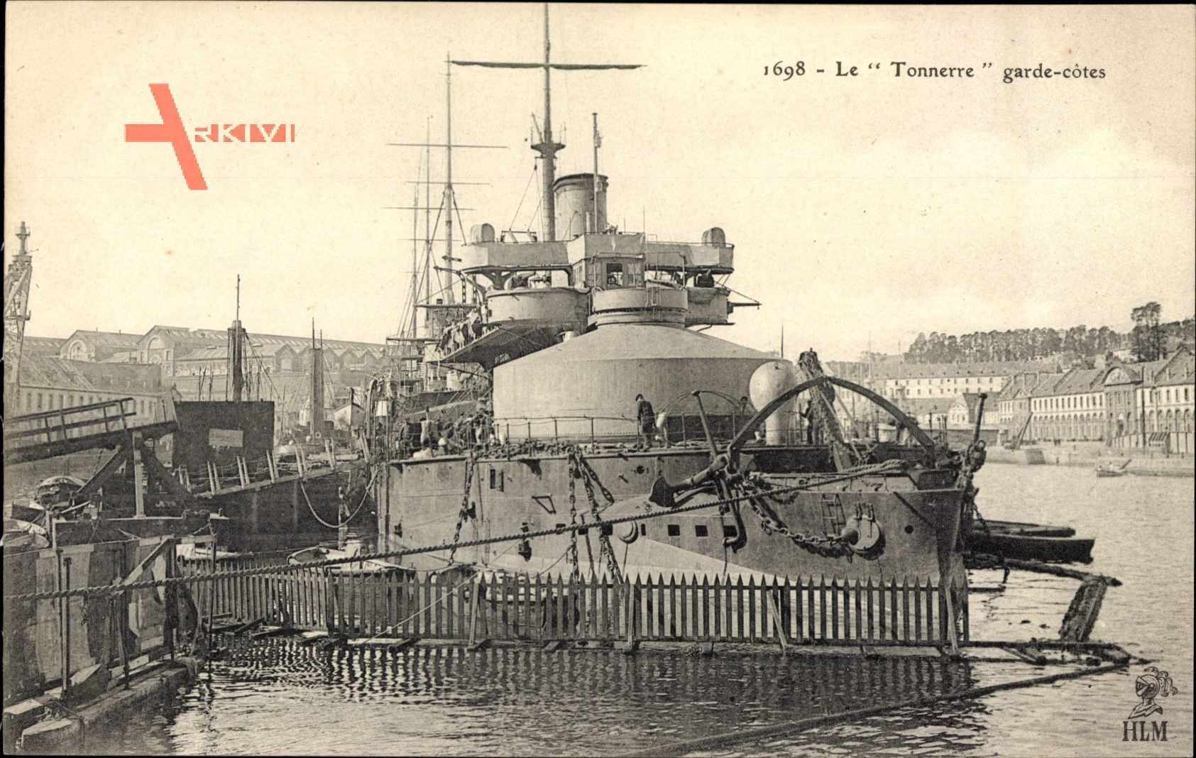 Französisches Kriegsschiff, Tonnerre, Garde Côtes, Marine Militaire