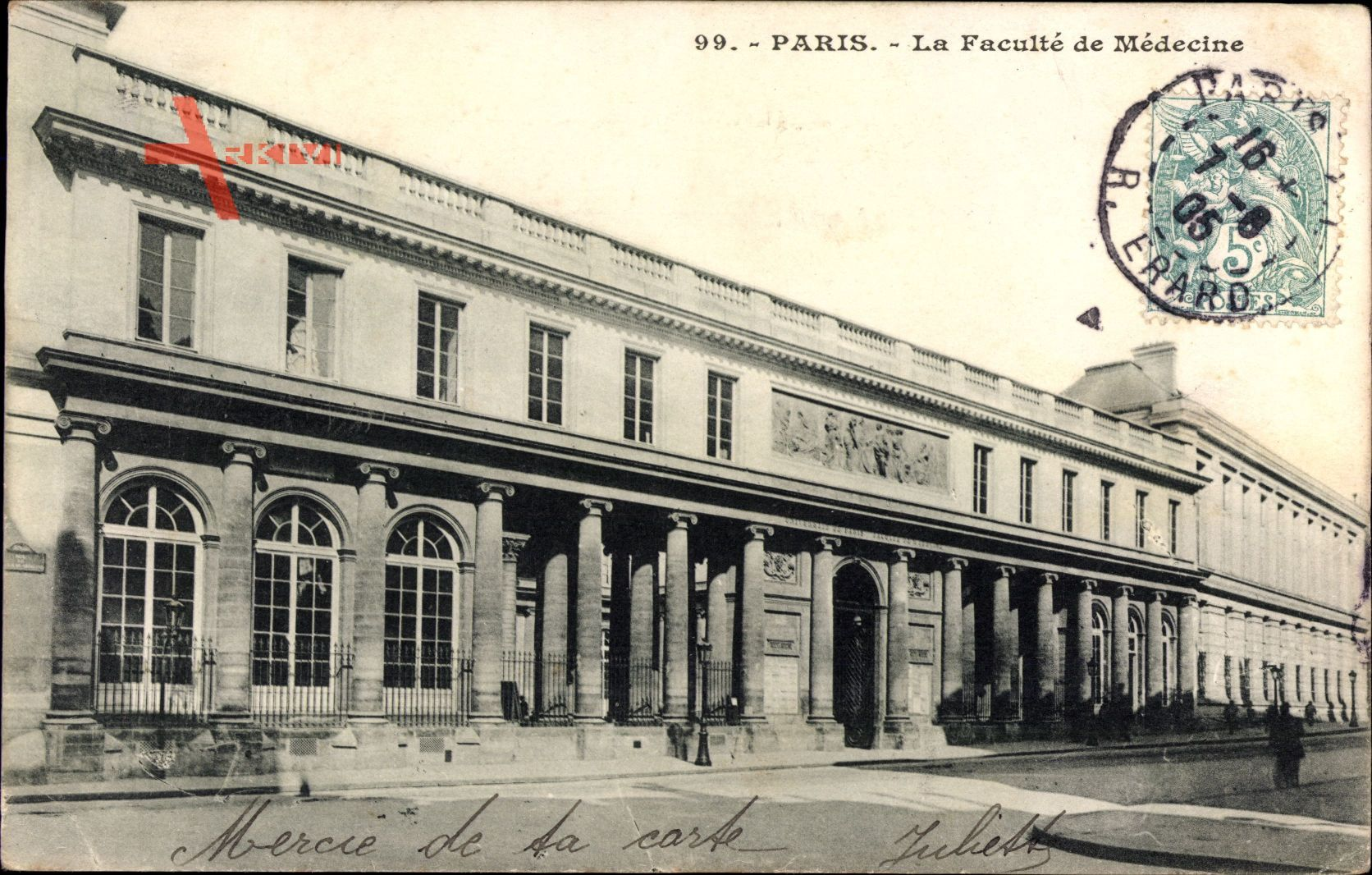 Paris, La Faculté de Médecine, Medizinische Fakultät