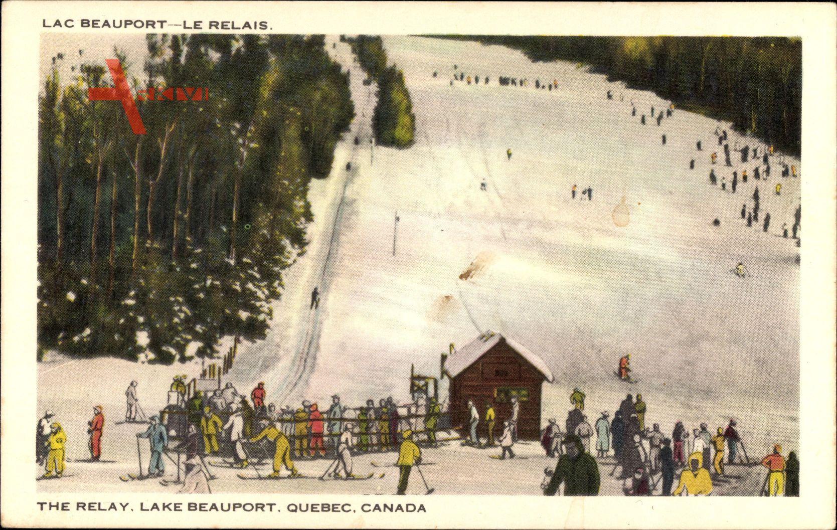 Lac Beauport Quebec, Le Relais, Lake Beauport, Skipiste