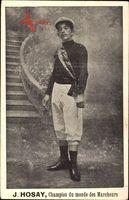 J. Hosay, Champion du monde des Marcheurs, Läufer, Weltmeister