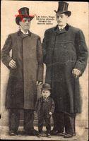 Les frères Hugo, les plus grands Géants du monde entier, Riesen, Liliputaner