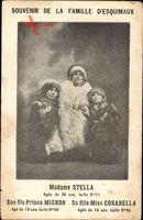 Souvenir de la Famille dEsquimaux, Madamme Stella, 71cm Hauteur, Nains