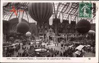 Paris, Grand Palais, Exposition de Locomotion Aérienne, Ballons, Continental