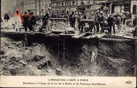 Paris, LOrage du 15 Juin, Éboulement, Rue de la Boetie, Faubourg St. Honore