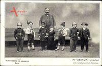 Paris, Royaume de Lilliput, Directeur M. Gerson, Lilliputiens