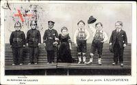 Paris, Royaume de Lilliput, Les plus petits Liliputiens