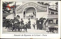 Paris, Souvenir du Royaume de Lilliput, Liliputaner