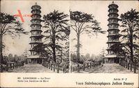 London City, La Tour dans les Jardins de Kew, Blick auf einen Turm