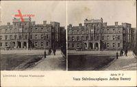 London City, Hopital Westminster, Blick auf das Krankenhaus