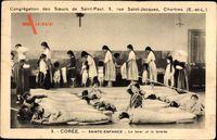 Korea, Sainte Enfance, Le lever et la toilette, Soeurs de Saint Paul