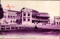 Singapur, Ansicht vom Cricket Club, Spielrasen