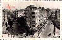Tunis Tunesien, Place Anatole France, Avenue de Paris, Avenue Théodore Ro.