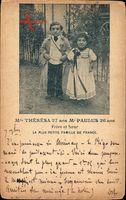 Mlle Theresa, 27 ans, Mr Paulus, 26 ans, Frere et Soeur, Liliputaner