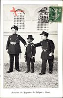 Paris, Souvenir du Royaume de Liliput, Liliputaner in Polizeiuniform