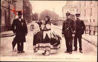 Douai Nord, Cortege de Gayant, Sot des Canonniers, verkleidete Männer