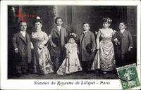 Paris, Souvenir du Royaume de Liliput, Liliputaner