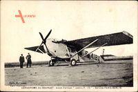 Aerodrome de Bourget, Avion Farman, Jabiru F 170, Service Paris Berlin