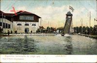 Liege, Weltausstellung 1905, Haute Bavière, Rutsche, Haus Bayern