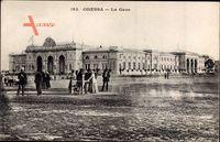 Odessa Ukraine, La Gare, Bahnhof, Seitenansicht
